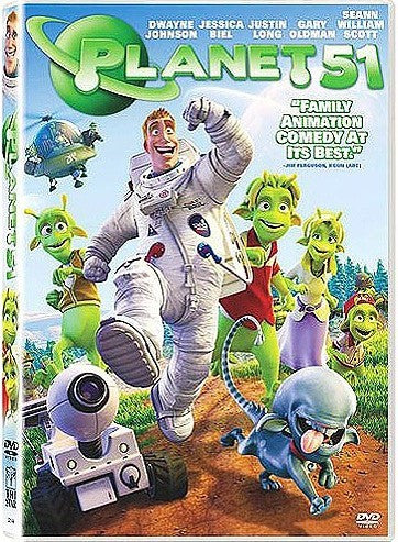 Planet 51 DVD (Free Shipping)