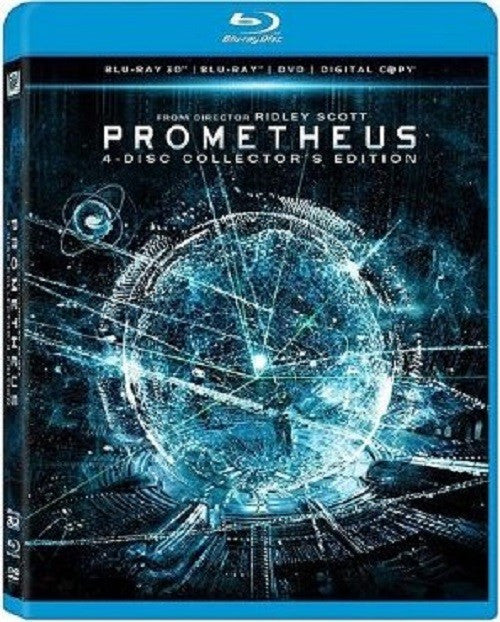 Prometheus 3D: 4 Disc Collector's Edition (3D Blu-Ray + DVD)