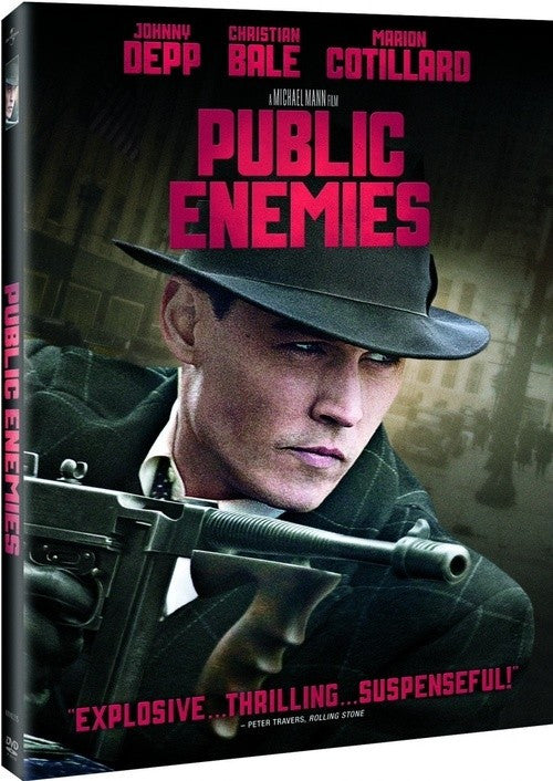 Public Enemies DVD (Free Shipping)