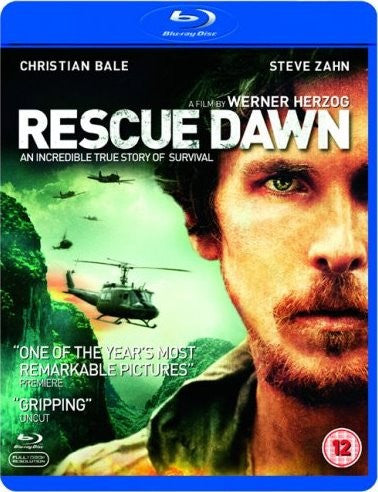 Rescue Dawn Blu-ray (Free Shipping)