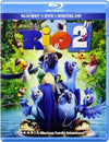 Rio 2 Blu-Ray + DVD + Digital HD (2-Disc Set) (Free Shipping)