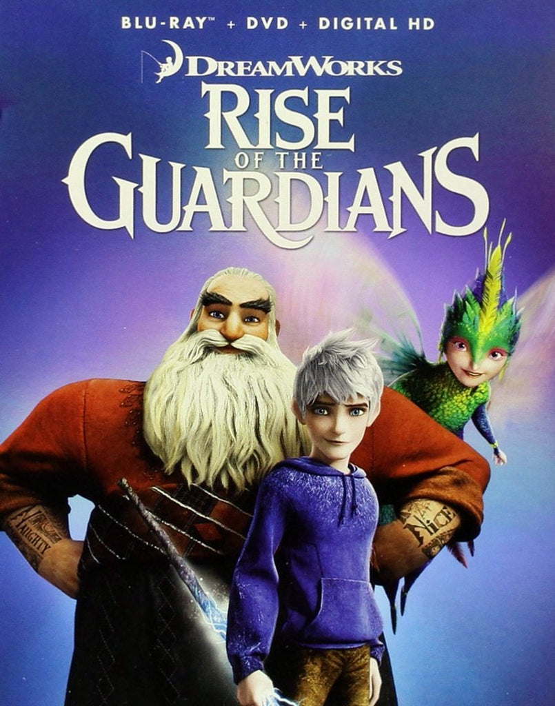 Rise Of The Guardians Blu-Ray + DVD + Digital HD (2-Disc Set) (Free Shipping)