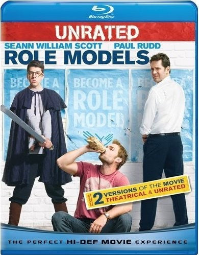 Role Models Blu-Ray (Rated / Unrated) (Free Shipping)