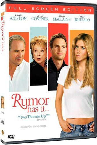 Rumor Has It DVD (Fullscreen) (Free Shipping)