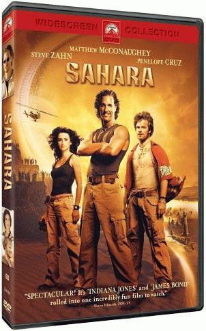 Sahara DVD (2005 / Widescreen) (Free Shipping)