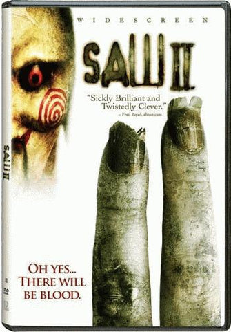 Saw II (2) DVD (Widescreen) (Free Shipping)