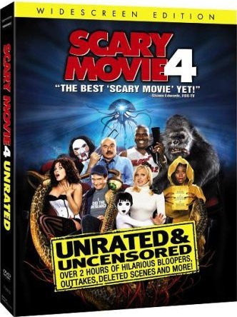 Scary Movie 4 DVD (Widescreen / Unrated) (Free Shipping)