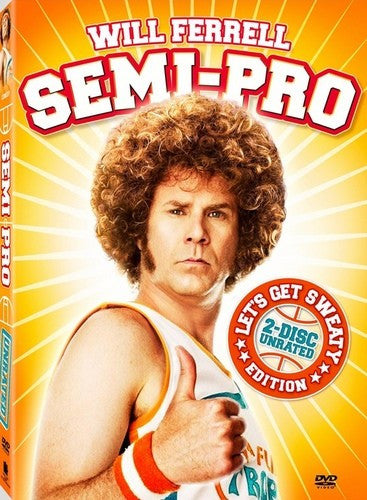 Semi-Pro DVD (2-Disc Unrated Let's Get Sweaty Edition) (Free Shipping)