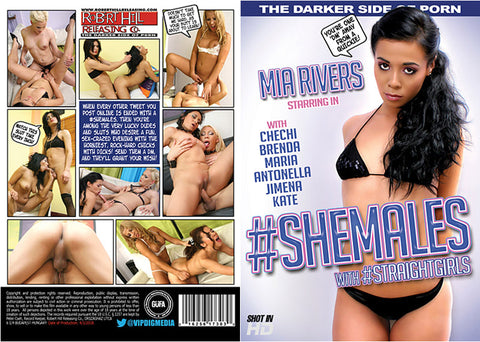 Shemales With Straightgirls - Robert Hill Adult DVD (Free Shipping)