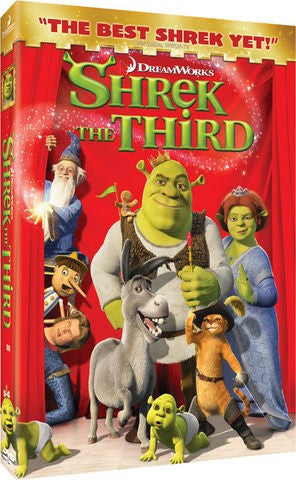 Shrek The Third DVD (Widescreen) (Free Shipping)