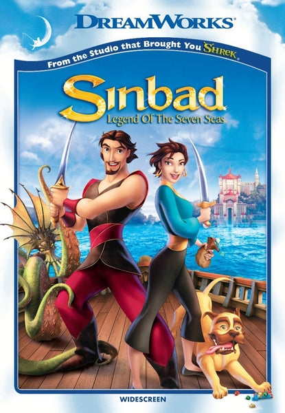 Sinbad: Legend of the Seven Seas DVD (Free Shipping)