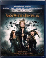 Snow White & the Huntsman Blu-Ray + DVD + Digital Copy (Extended Edition) (Free Shipping)