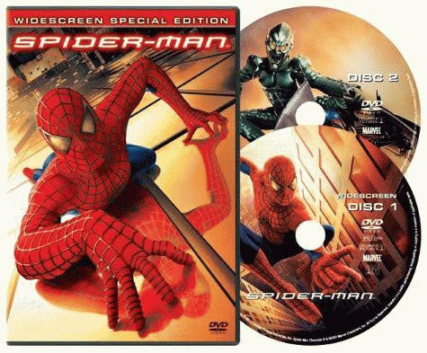 Spider-Man DVD (Widescreen Special Edition) (Free Shipping)