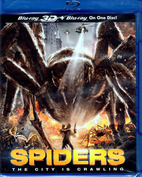 Spiders 3D Blu-Ray (Free Shipping)