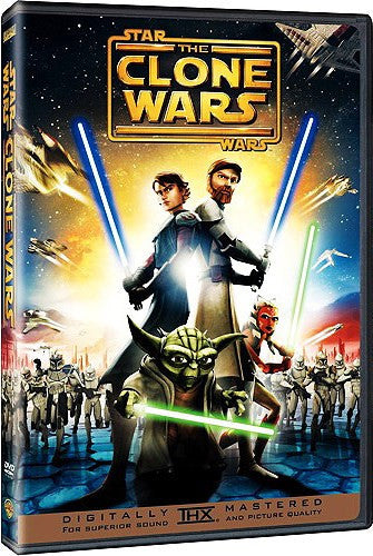 Star Wars - The Clone Wars DVD (Free Shipping)