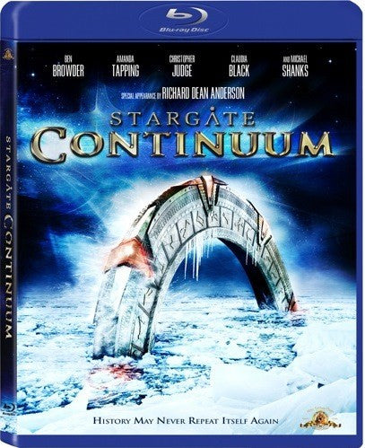 Stargate - Continuum Blu-Ray (Free Shipping)