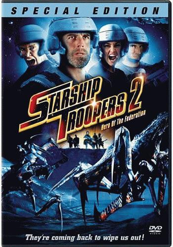 Starship Troopers 2 - Hero of the Federation DVD (Free Shipping)