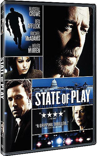 State Of Play DVD (Free Shipping)