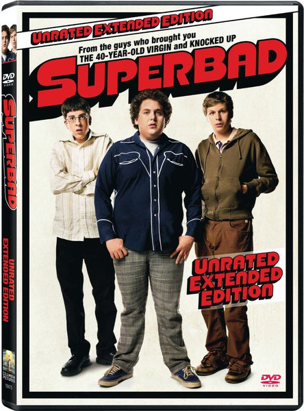 Superbad: Unrated Extended Edition DVD (Free Shipping)