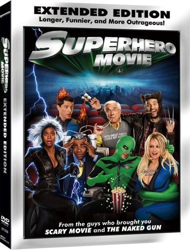 Superhero Movie DVD (Unrated Extended Edition) (Free Shipping)