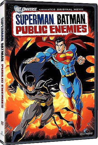 Superman Batman - Public Enemies DVD (Free Shipping)