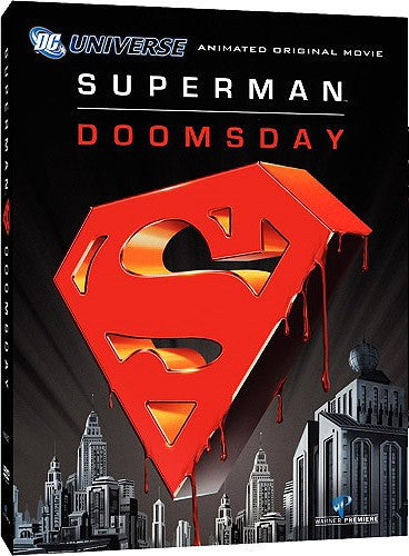 Superman - Doomsday DVD (Free Shipping)