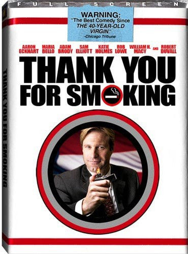 Thank You For Smoking DVD (Fullscreen) (Free Shipping)