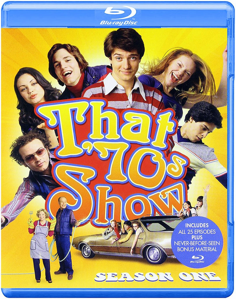 That '70s Show: Season One 1 Blu-Ray (4-Disc Set) (Free Shipping)
