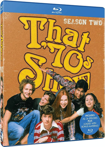 That '70s Show: Season Two 2 Blu-Ray (4-Disc Set) (Free Shipping)