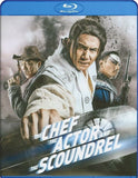 The Chef, The Actor, The Scoundrel Blu-Ray (Free Shipping)
