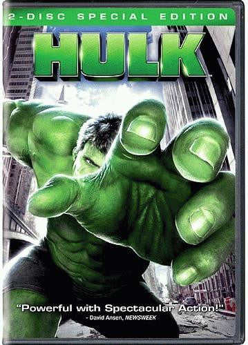 The Hulk DVD (2-Disc Special Edition) (Free Shipping)
