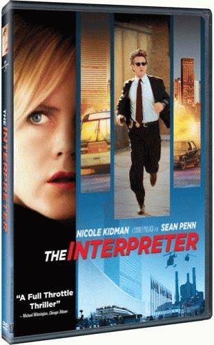 The Interpreter DVD (Widescreen) (Free Shipping)