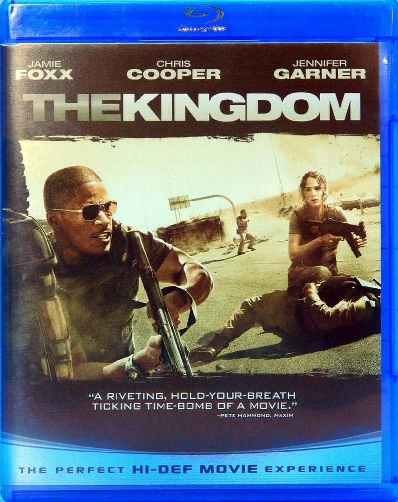 The Kingdom Blu-Ray (Free Shipping)