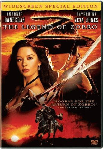 The Legend Of Zorro DVD (Widescreen) (Free Shipping)
