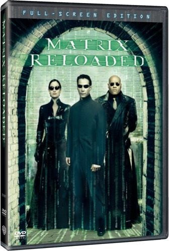The Matrix Reloaded DVD (Fullscreen) (Free Shipping)