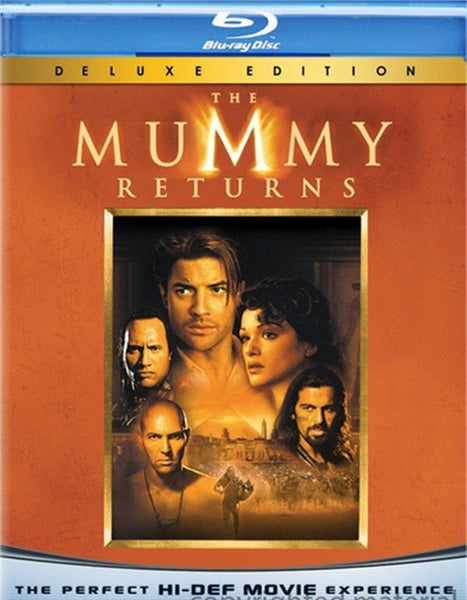 The Mummy Returns - Deluxe Edition Blu-Ray (Free Shipping)