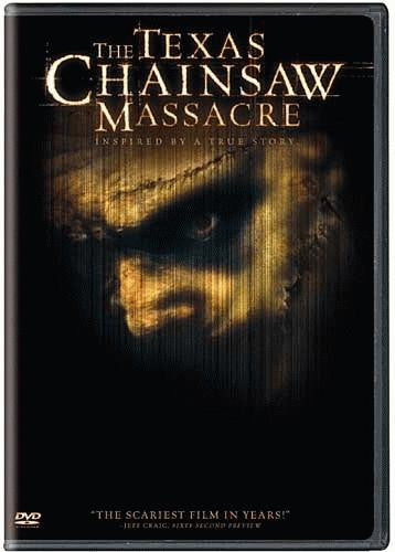 The Texas Chainsaw Massacre DVD (2003) (Free Shipping)
