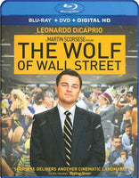 The Wolf Of Wall Street Blu-ray + DVD + Digital HD 2-Disc with Slip Cover (Free Shipping)