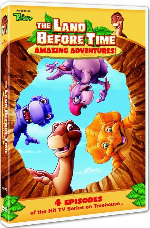 The Land Before Time - Amazing Adventures DVD (Free Shipping)