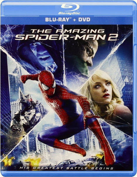 The Amazing Spider-Man 2 Blu-ray + DVD + UltraViolet (3-Disc Set) (Free Shipping)