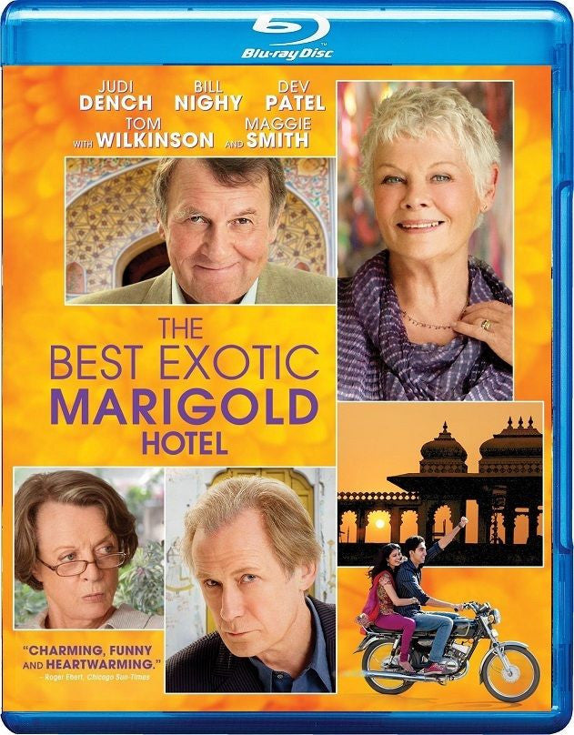 The Best Exotic Marigold Hotel Blu-Ray (Free Shipping)