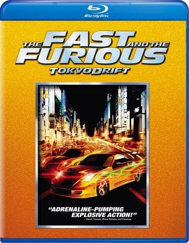 The Fast and the Furious - Tokyo Drift Blu-Ray (Free Shipping)