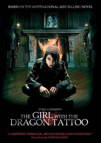 The Girl With The Dragon Tattoo DVD (Free Shipping)