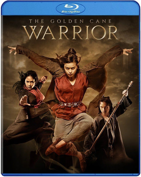 The Golden Cane Warrior Blu-Ray (Free Shipping)
