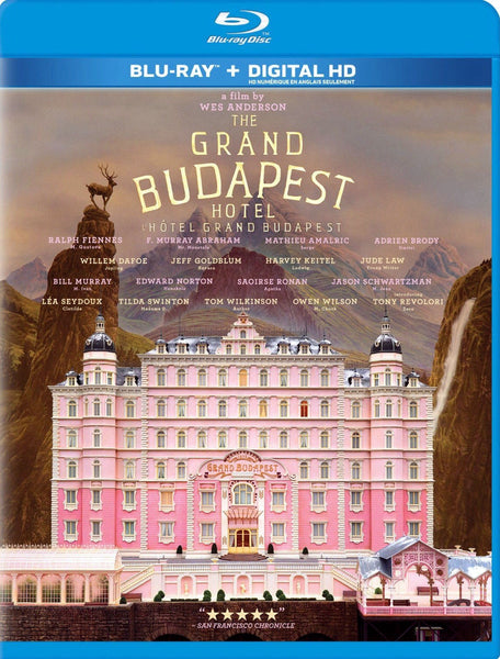 The Grand Budapest Hotel Blu-Ray + Digital HD (Free Shipping)