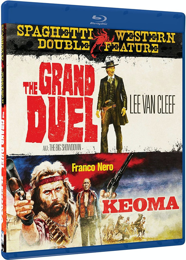 Grand Duel & Keoma Double Feature Blu-Ray (Free Shipping)