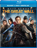 The Great Wall Blu-Ray + DVD + Digital HD (2-Disc Set) (Free Shipping)