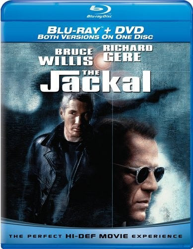 The Jackal Blu-Ray + DVD Both Versions On One Disc (Free Shipping)