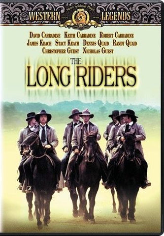 The Long Riders DVD (Free Shipping)