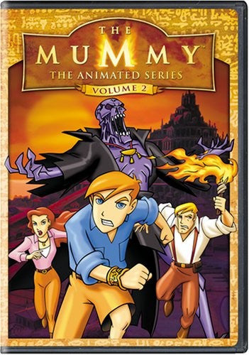 The Mummy - The Animated Series DVD (Volume 2) (Free Shipping)